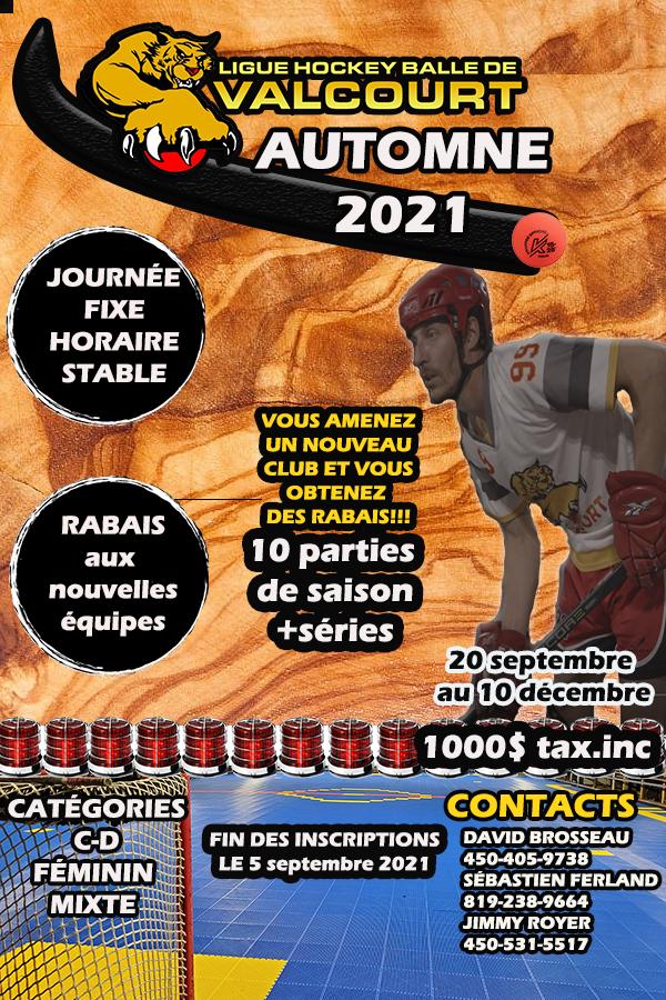 Saison Automne 2021