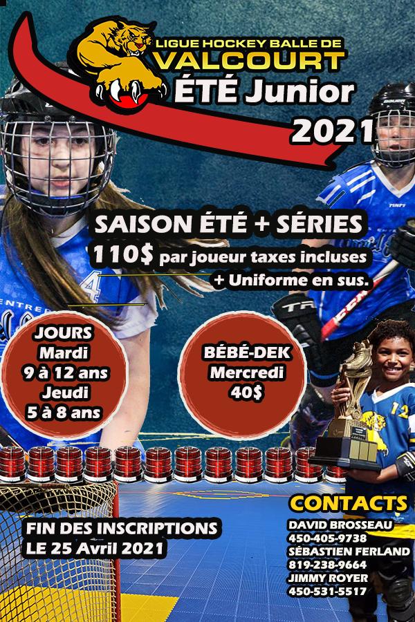 Saison Junior 2021